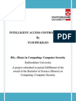 Intelligent Access Control System by Yusuph Kileo