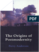 Perry Anderson, The Origins of Postmodernity