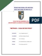 METRADOS Presentar