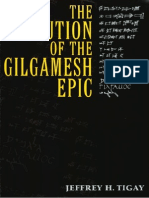 Jeffrey H. Tigay, the Evolution of the Gilgamesh Epic