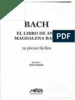 Ana Magdalena Bach - 19 Piezas Faciles