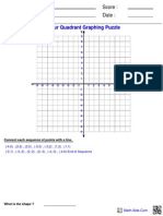 Graphing Four Ordered Puzzle 2