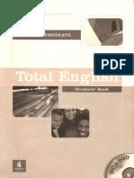 Total English Pre Intermediate Student's Book 160p