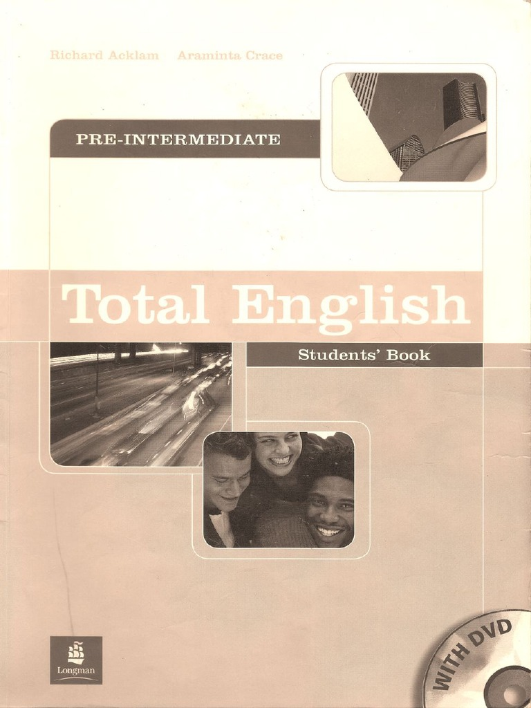 Total english pre intermediate workbook скачать pdf