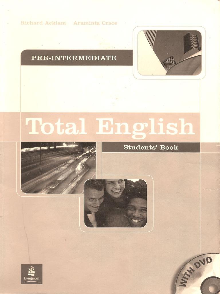 Total english pre intermediate workbook скачать pdf