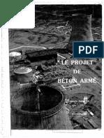 Le projet de Béton Armé - Henry Thonier - 1991