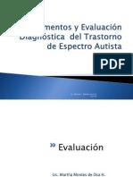 Evaluación Diagnóstica del TEA