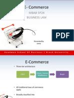 Law E-Commerce 5P24 PPT