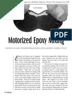 Epoxy Mixer