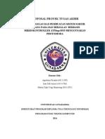 Proposal Proyek Tugas Akhir Perancangan Dan Pembuatan Belt Conveyor Berbasis Mikrokontroller Atmega 8535