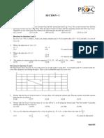 CAT 2008 Question Paper