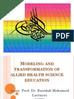 Assoc. Prof. Dr Rasidah Mohamed (UiTM)