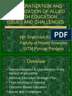 Dr Sharidah Kassim (UiTM)