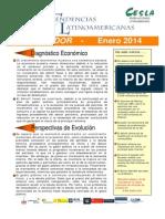 Informe Economia Ecuador Enero 2014