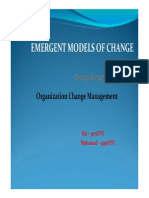 Emergent Models of Change - Grp Assignment_ENT Studies