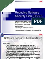 Gilliam Reducing Software Security Risk
