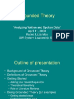 Grounded Theory Web
