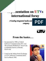UTV International