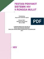 Manifestasi Penyakit Sistemik Hiv