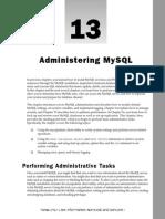 Wrox.beginning.mysql.mar.2005 - 13. Administering Mysql