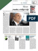 Coronel Bernanke, código rojo