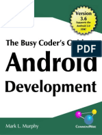 Busy Coder's Guide to Android Development 3-6-CC