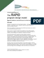 RAPID Program Design