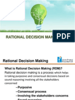 140401 02 significance of rational decision making