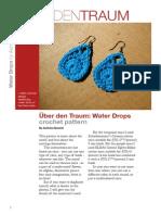 Pattern Crochet Water Drops v2