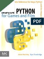 Maya Python for Games