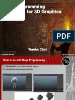 Mya Program for Graphics