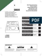 CDJ - 500 II Service Manual