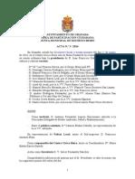 Acta Junta Municipal Distrito Beiro marzo 2014