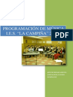 PROGRAMACION MUSICA I.E.S. LA CAMPIÑA 2013-14
