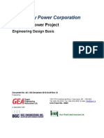 Engineering Design Basis GA