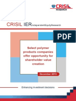 Polymer Products Companies_CRISIL