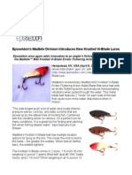 Eposeidon's Madbite Division Introduces New Knotted Vi-Blade Lures
