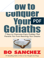How to Conquer Your Goliaths