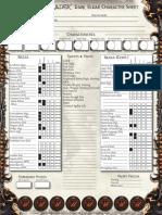 Soul Reaver Character Sheet HD