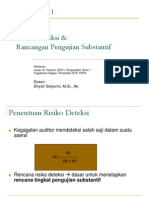 9. Risiko Deteksi Dan Rancangan Pengujian Substansi