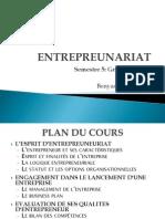 Cours Entrepreunariat
