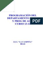 1. Programación de ef 2013 14