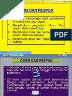 Dosis Respon Rev