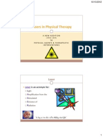 Lasers in Physical Therapy 2012
