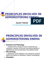 Administering Enema POWERPOINT