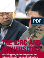 The ICRC and universities