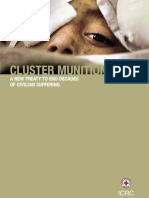 Cluster munitions