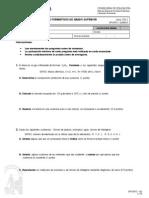 Prueba de Acceso a FP de Grado Superior Junio 2011  Opción C