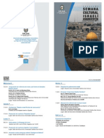 Diptico Semana Israelin