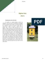 Alpine Hive 2
